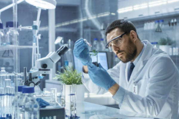 weed research lab