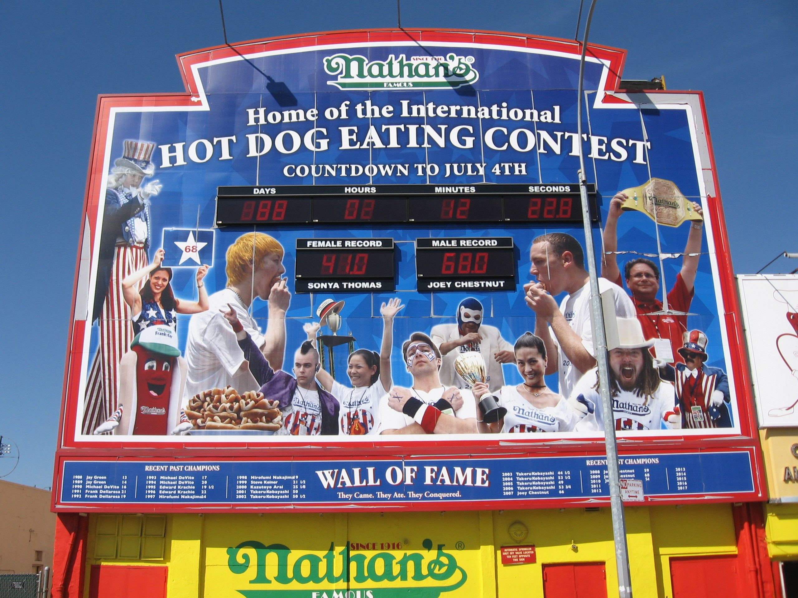 Nathan's Contest 2020