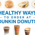What All Healthy Can You Find On Dunkin Donuts?