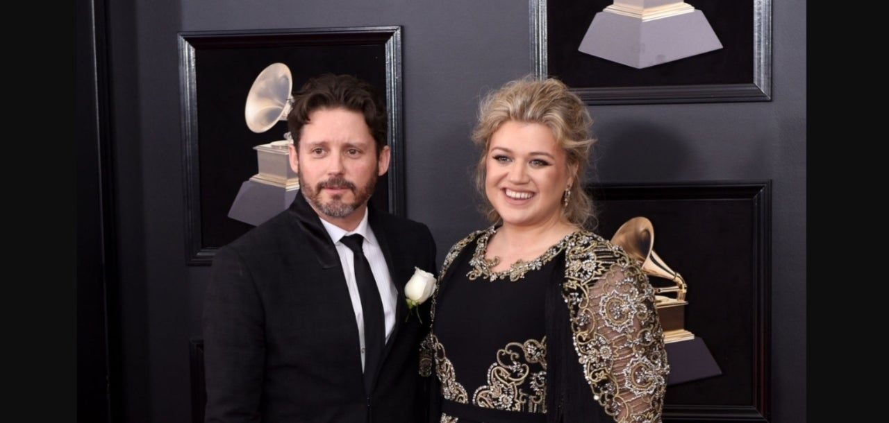 Kelly Clarkson and Brandon Blackstock