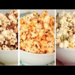 How to make popcorn and different flavors that go well?