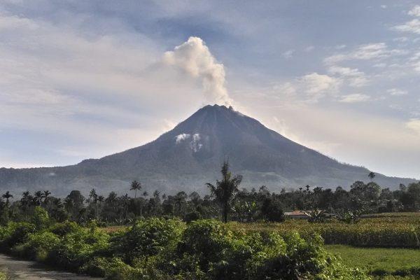 Sinabung Volcano