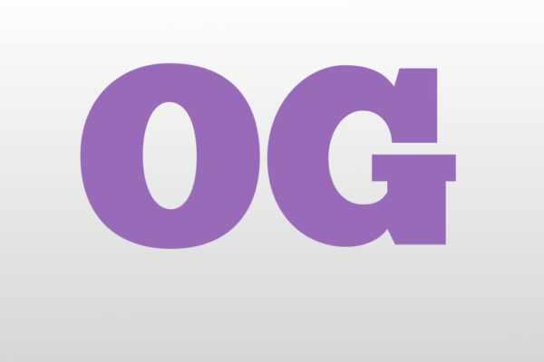 What Does OG Mean