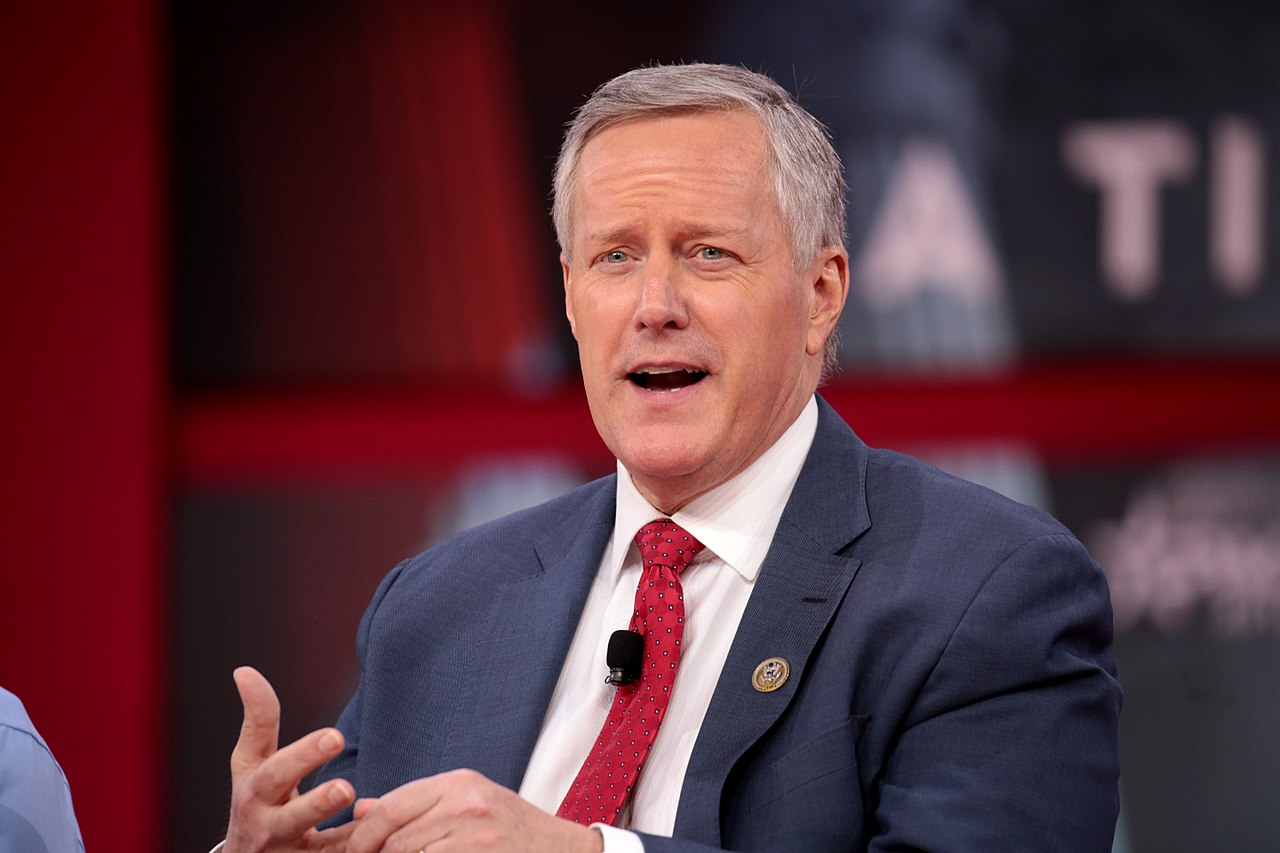Mark Meadows tests covid positive