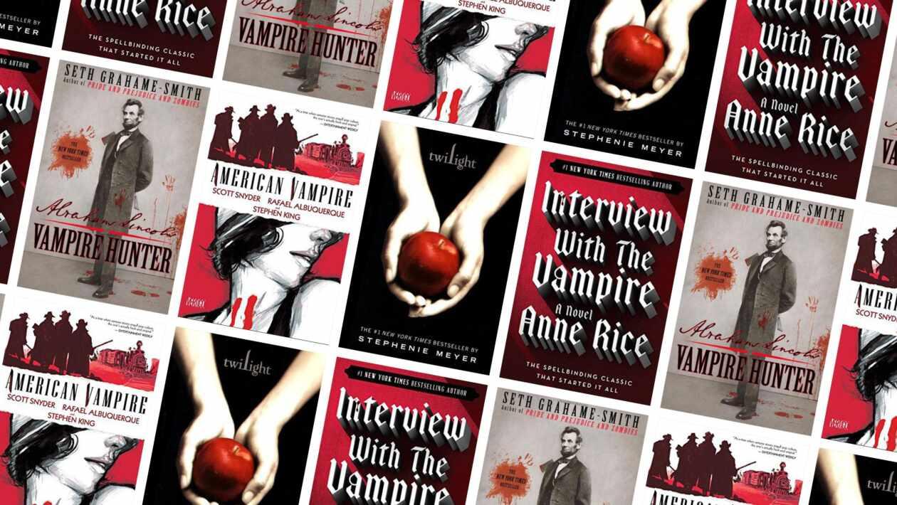 100 vampire novels