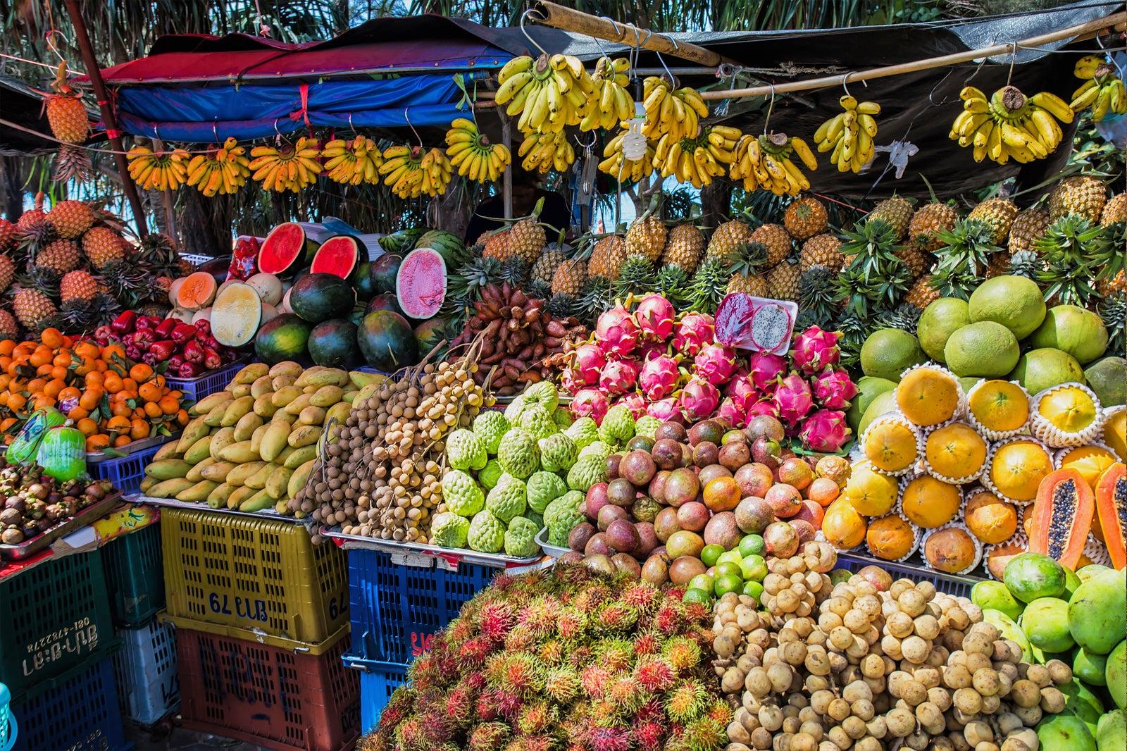 Healthy Fruit in Thailand