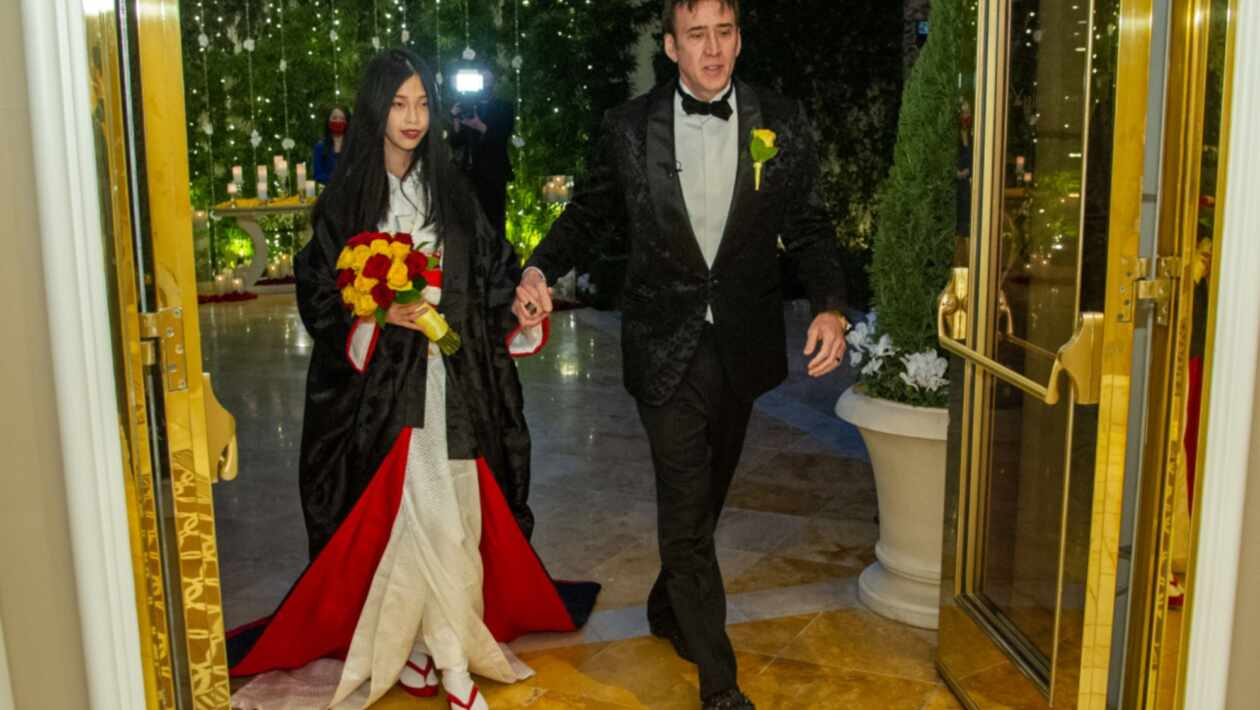 Nicolas Cage gets married