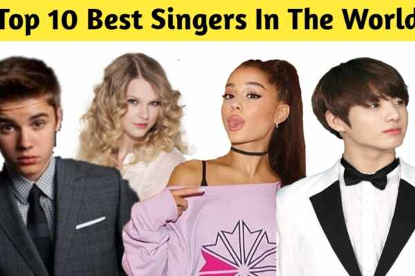 top 10 singers in the world