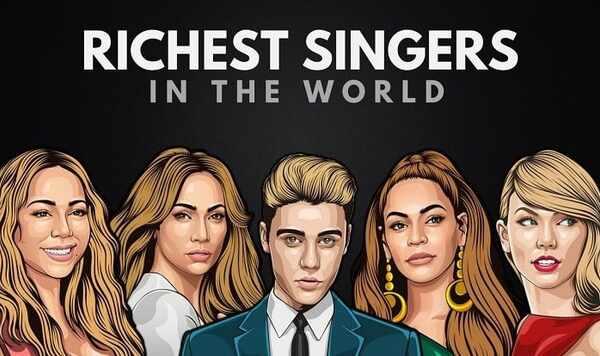 richest singer in the world